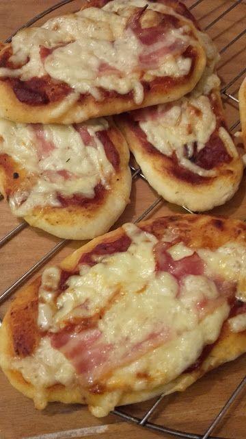 Szalonnás pizzacsónak
