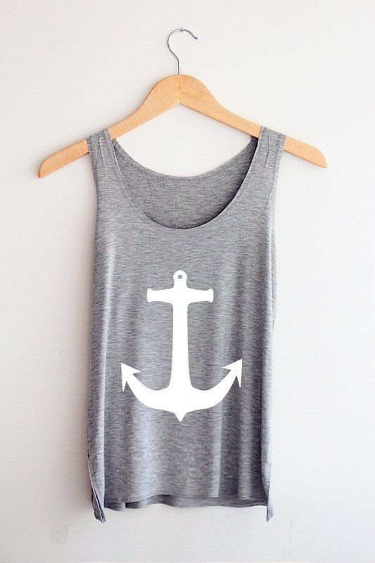 I'm a sucker for anything Nautical!! I think its because i'm an aquarius (water sign!). How cute is this tank.. #SWSHAREYOURLIFE