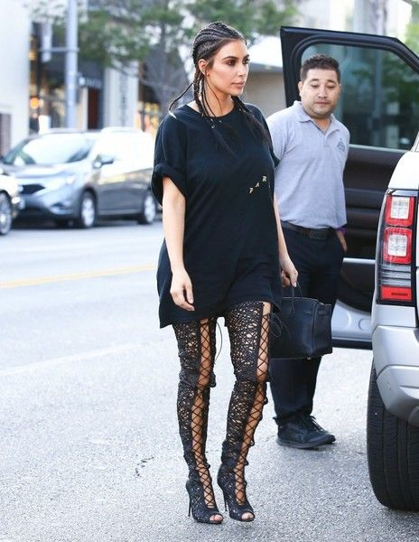 Kim Kardashian Photos: Kim Kardashian and Brittny Gastineau Enjoy a Day in…