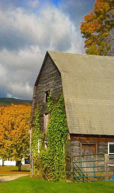 Faded Barn
