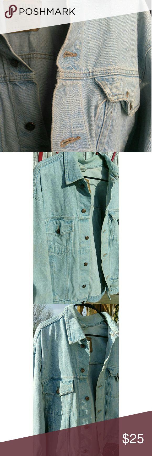 Light blue jean jacket Used. Needs to go asap! Faded Glory Jackets & Coats