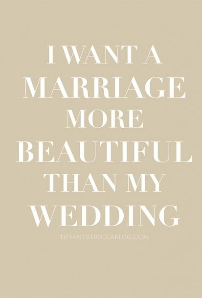 I love that this quote reminded me of my 3 day planned wedding, reception 2 months later, and being sealed 16 months later. We had some great moments, and we worked hard in between!