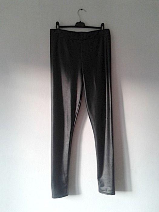 Skórzane spodnie Topshop