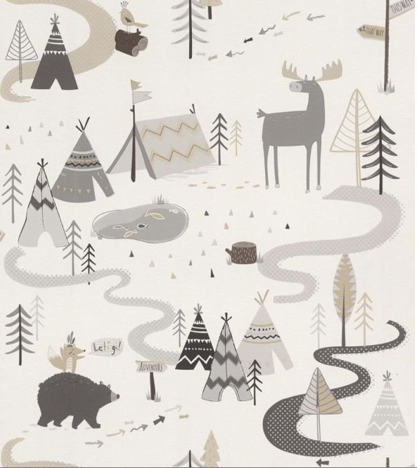 Beautiful forest scene from our new Kids and Teens range