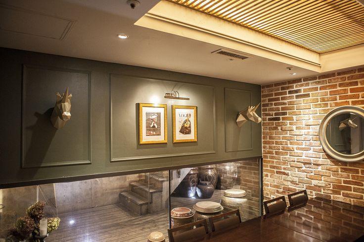 Gold Unicorns @ Fusion Korean Restaurant - Bistro Bon | www.papacollection.com