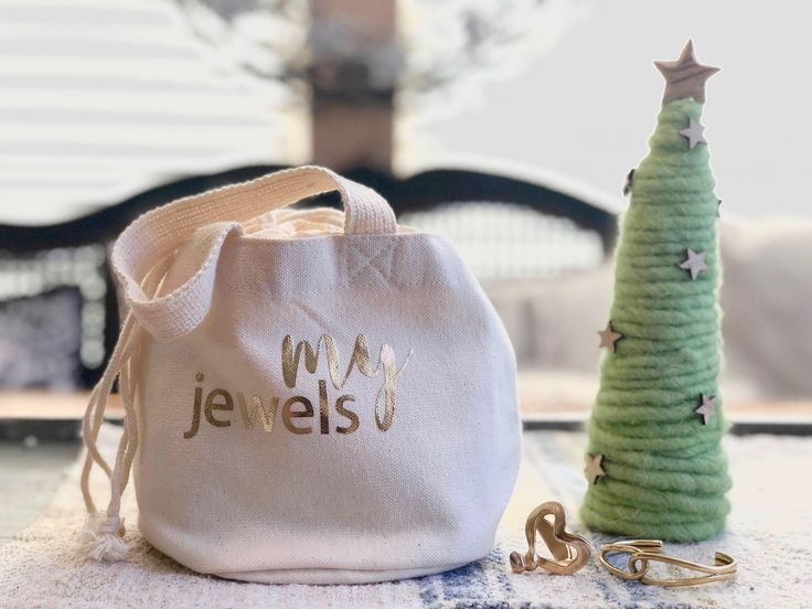 Organic Spa My Jewels  bag, ECOBAG, 100% certified organic cotton, drawstring bag, bride bag by ColorONEcreations on Etsy https://www.etsy.com/listing/566104896/organic-spa-my-jewels-bag-ecobag-100