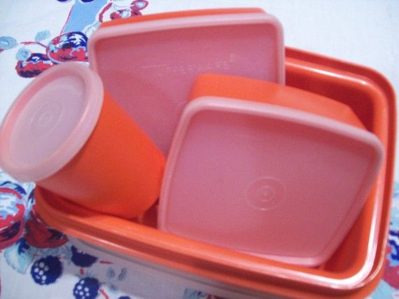 I'd love a vintage Tupperware lunchbox for work.