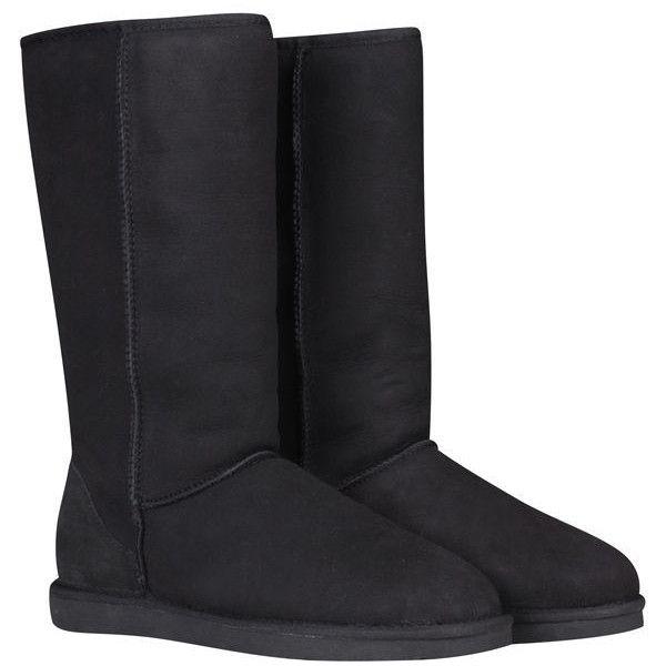 ugg australia women's classic tall boots black