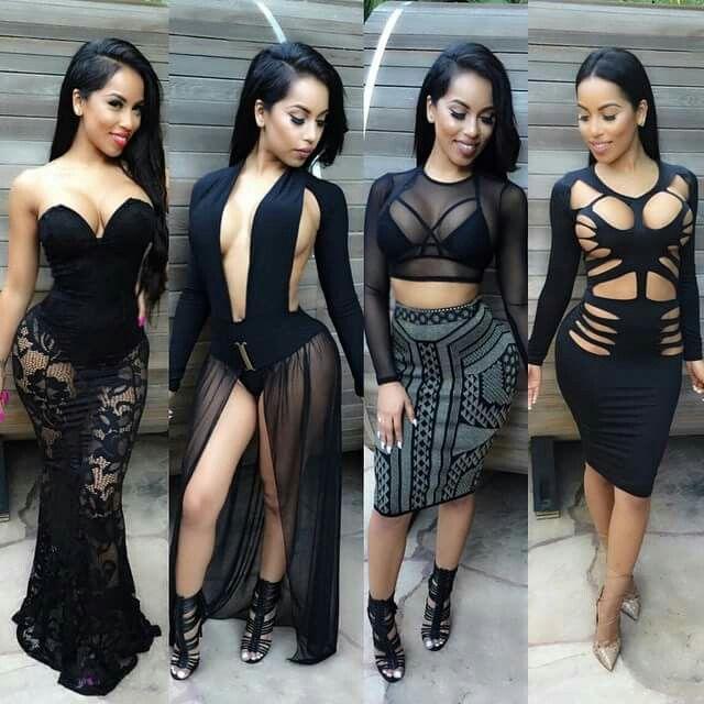 After 5 black dresses club