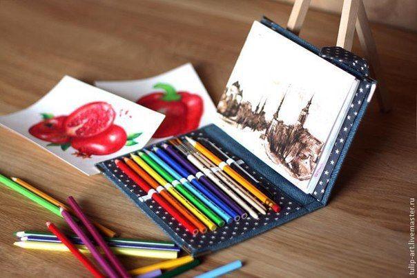 Карманный органайзер для рисования
