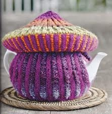 ❄Knit Tea Cosies, Mug Hug Snugs and Cuppa Cosies. Mushroom, Toadstool tea cozie
