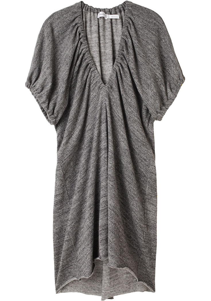 ÉTOILE ISABEL MARANT /  DIXIE RUCHED DRESS    $390.00  Like it, but a bit out of my price range!