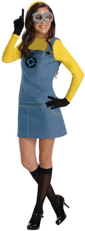 minion Halloween costume adults, easy Halloween costumes,