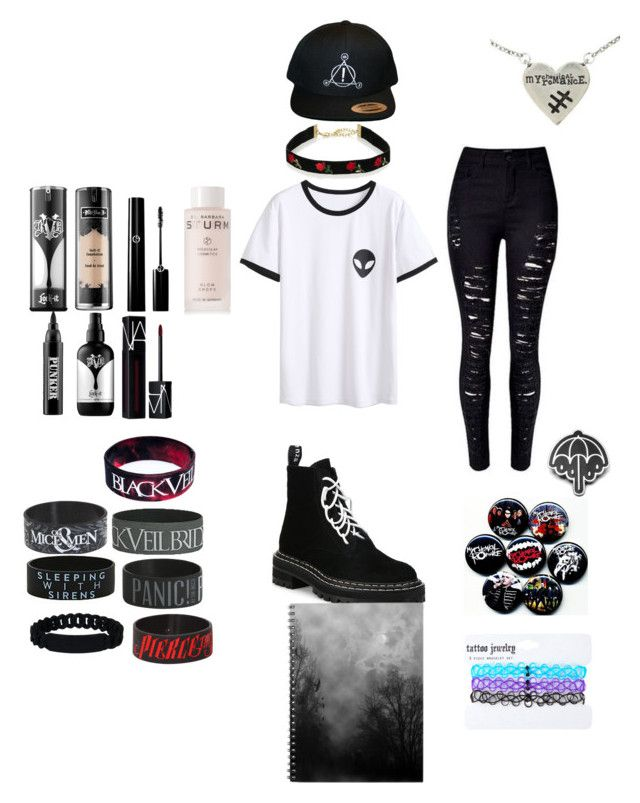 """""""Casual"""" by afashinonableemo on Polyvore featuring Proenza Schouler, Kat Von D, Dr. Barbara Sturm, NARS Cosmetics, Ardency Inn, Hot Topic and Marc by Marc Jacobs"""