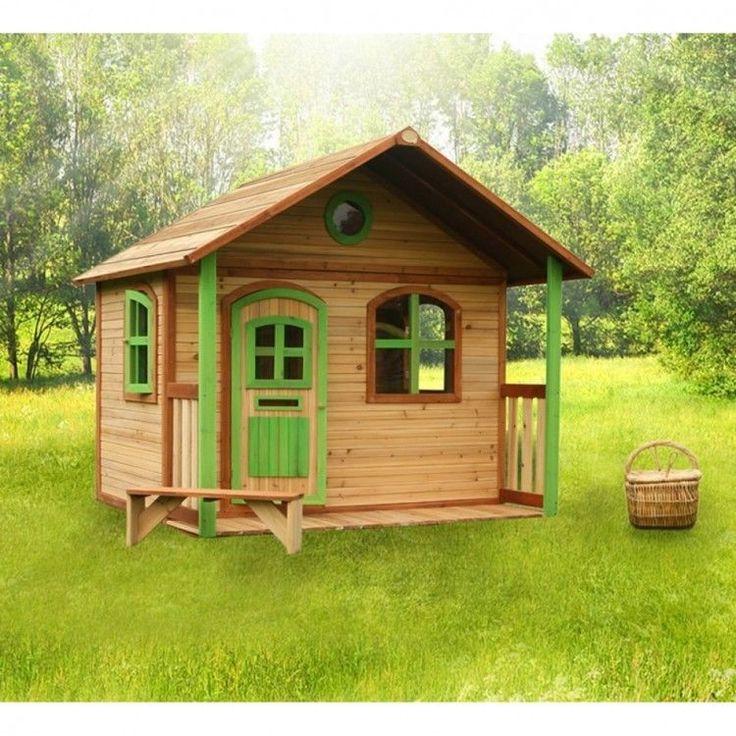 Kids Outdoor Playhouse Garden Play Backyard Wooden Activity Cabin Lodge Cottage #KidsOutdoorPlayhouse