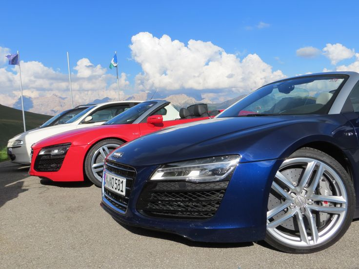 Northern Italy multi day corporate driving experience.