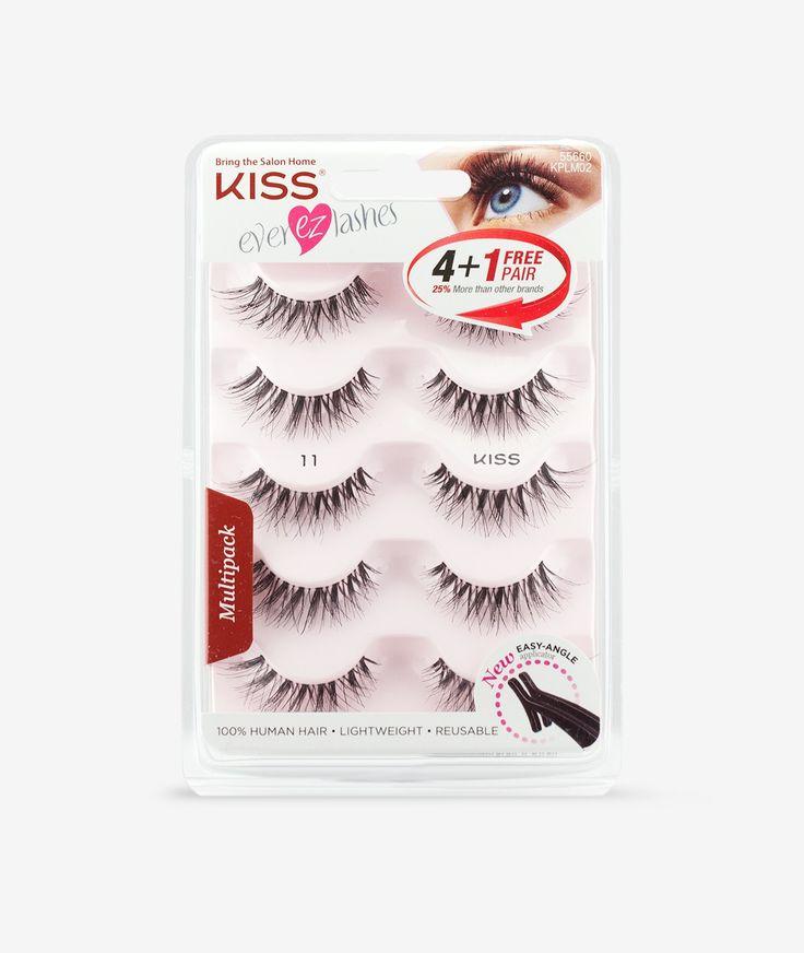 Ever EZ Lash Multipack by KISS - 11 - Wispy - Styles - Eyelashes
