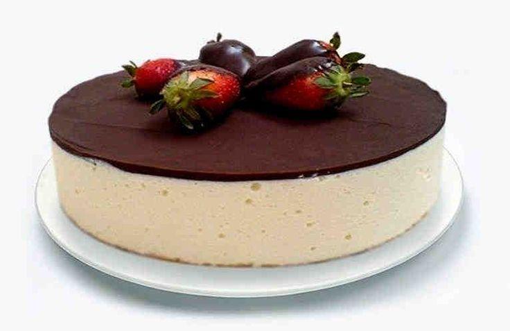 Es una magnífica tarta dietética. Puedes comertela sin ningún riesgo de engordar hasta si vas a comerla por la noche. Es una tarta saludable y baja en calorías, y por eso puedes adelgazar comiendo esta tarta. Ingredientes Para el bizcocho: + 1 huevo, + 1 cucharada de cacao en polvo,