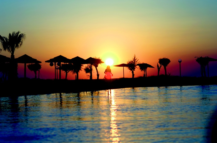 Lemnos - fantastic sunsets!    Lemnos Beach Holidays, Greece.    Elemis Spa  Beautiful rooms and contemporary bathrooms  Fantastic swimming pool  Excellent dinghy sailing  Spacious landscaped grounds  Adult only indoor pool  Traditional and unspoilt island