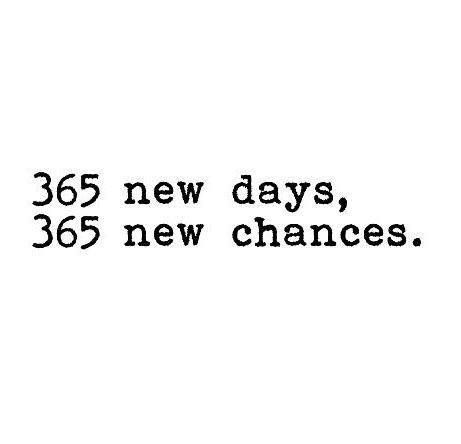 Image result for 365 days 365 new chances