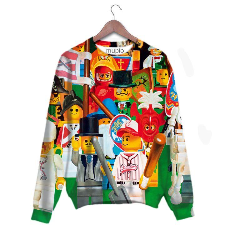 printed sweater Mupio by Artysta i Sztuka Available here: http://mupio.pl/ designer: Zbigniew Gorlak
