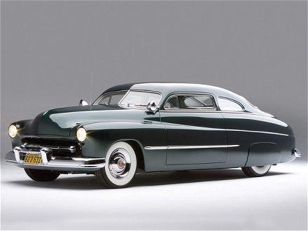 1951 Mercury Lead Sled..huge and sleek all at the same time.