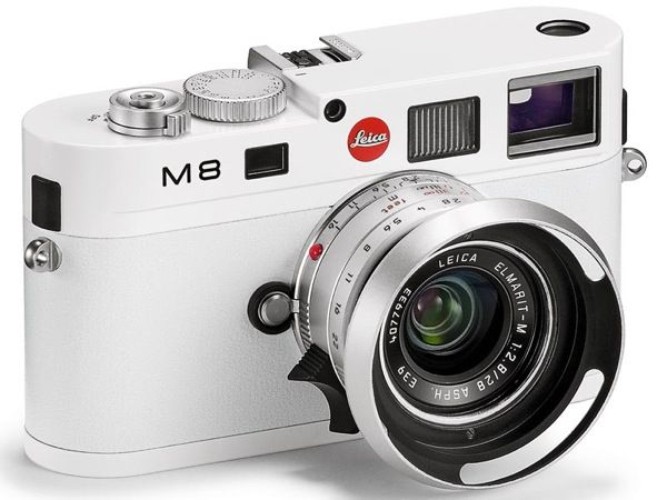 Leica M8 Special Edition White (most splurge-worth accessory ever.)