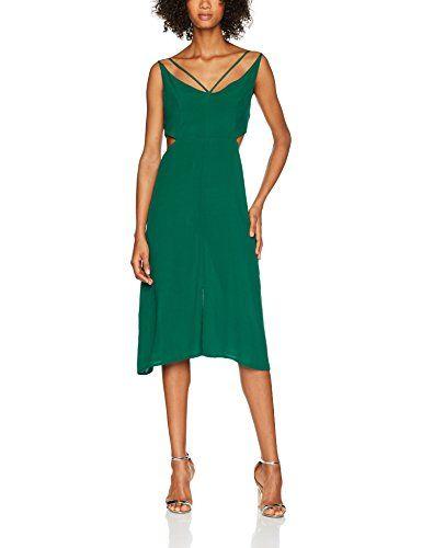0322a58b8eaa Shana 73473 Vestito Donna (Verde 300) L