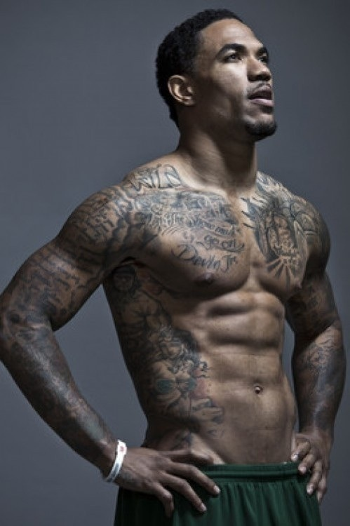 black guys in tats banging