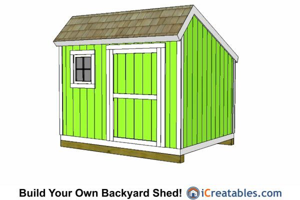 10x10 saltbox shed plans 10x10 shed plans pinterest for Saltbox garden shed plans