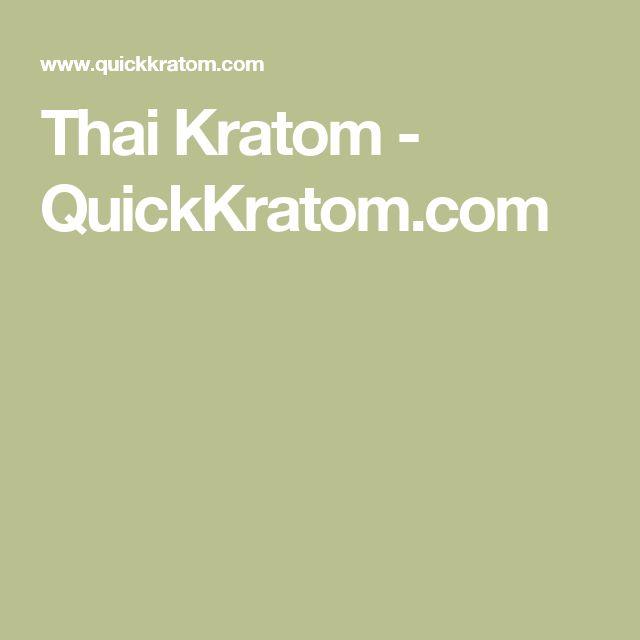 Thai Kratom - QuickKratom.com