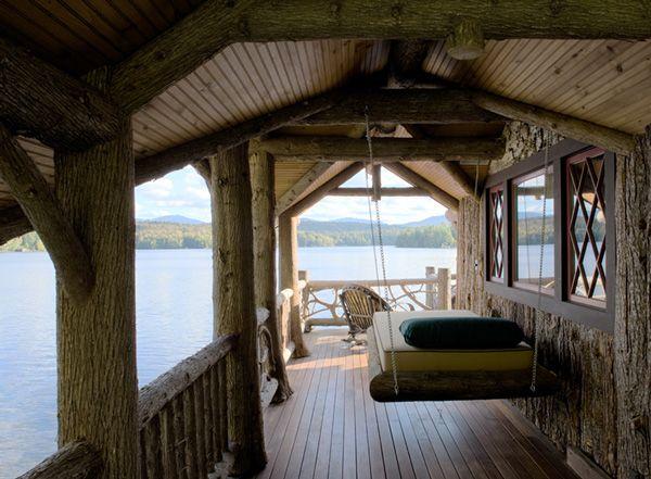 Boathouse Hanging Beds
