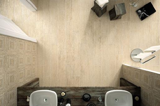 PQ Parquet Ceramico Collection - PQ 01 effetto acero| #Architecture #Design #Ceramics #Tiles #Ecology #Beige #Bathroom #Floor