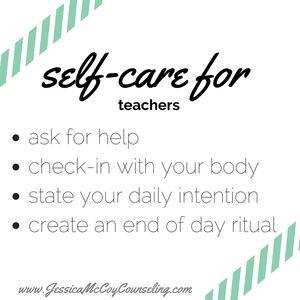 Self-Care for Teachers  Self care ideas, Self care activities, Self-care plan