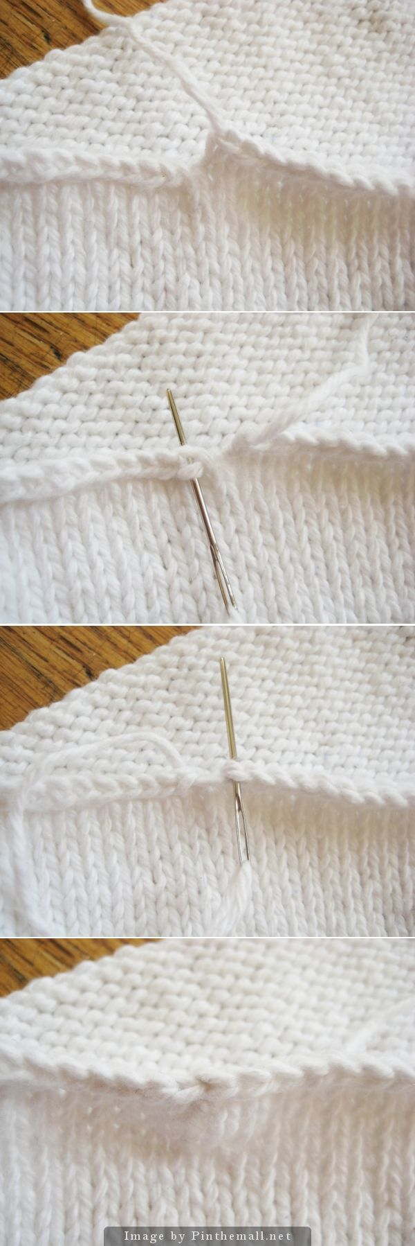 Knitting Casting Off Tutorial : Better casting off when knitting in the round a blunt