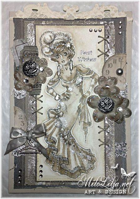 Made by Milo Lilja - Welcome to my blog: http://milolilja - #art #scrap #scrapbooking #creative #handmade #rickstdennis
