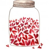 Jar of Love – One of the Easiest Inexpensive Gift Ideas
