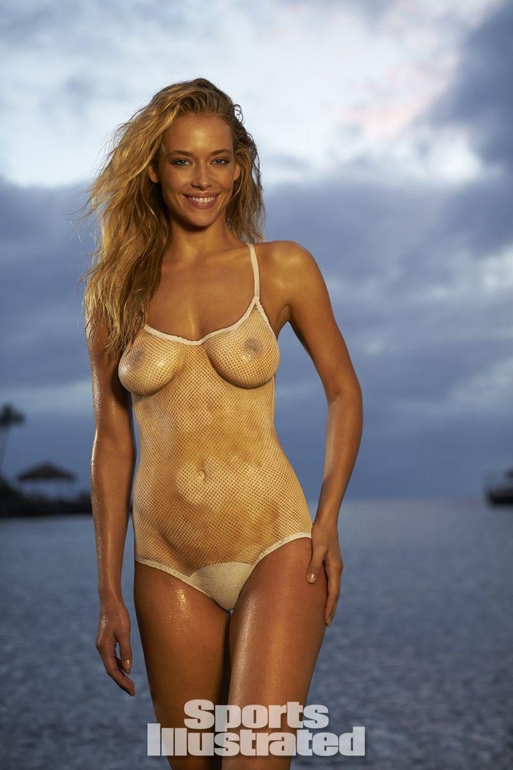 purenudism jr Hannah Ferguson 2014 Swimsuit: Body Paint