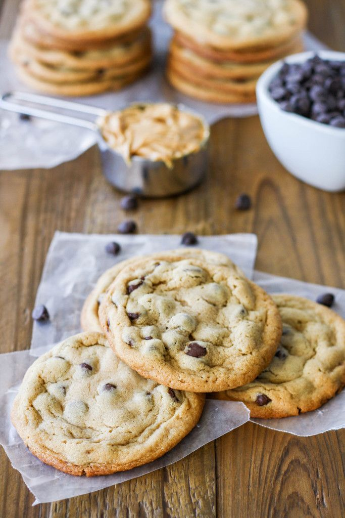 The ultimate chewy peanut butter chocolate chip cookie. Sweet, peanutty, and…