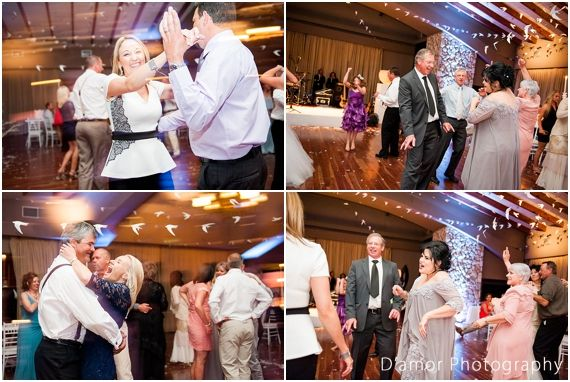 Guests dancing | White Wedding Wonderland at Thaba Ya Batswana | http://damorphotography.co.za/ben-estune-white-wedding-wonderland-at-thaba-ya-batswana/