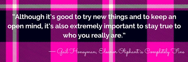 Book Quote - ELEANOR OLIPHANT IS COMPLETELY FINE by Gail Honeyman. Read our book review and more wonderful quotes from this deeply moving novel. 5 Star read.