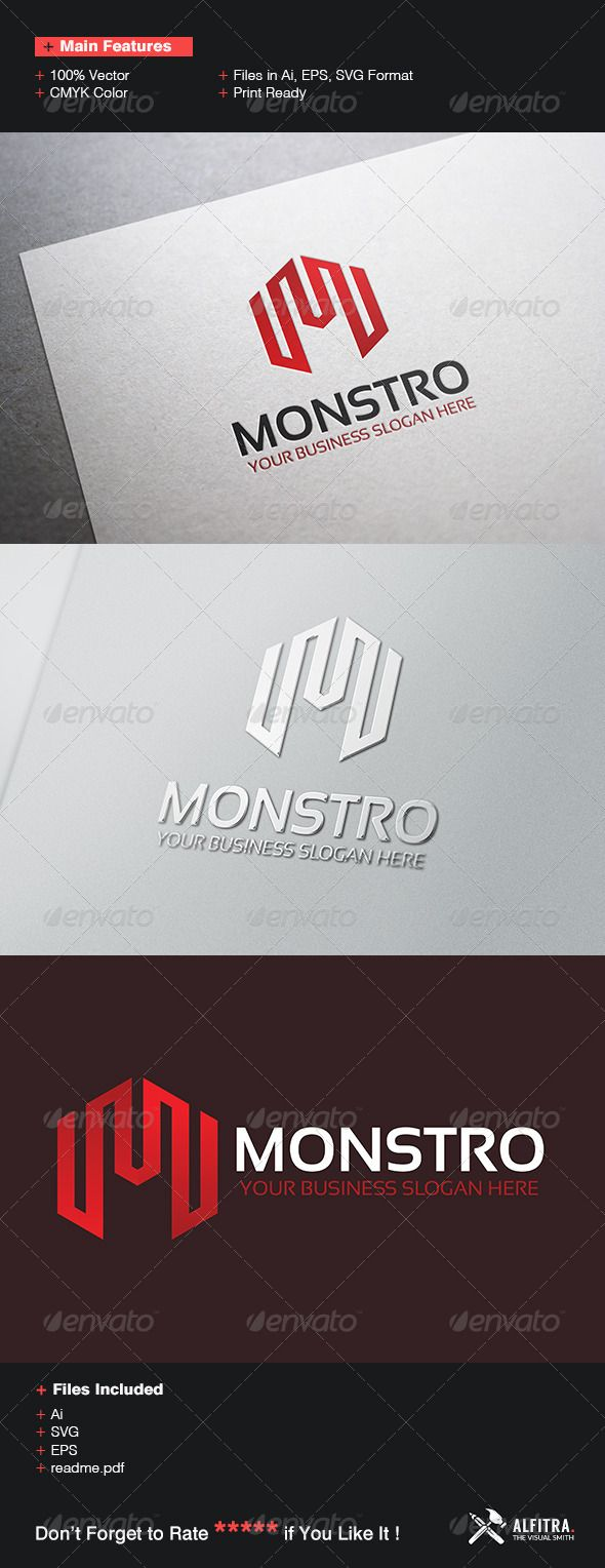 formats of business letters%0A Description   Monstro Logo Template is an excellent logo template suitable  for your company  Included