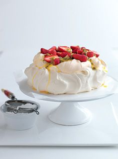 Donna Hay pavlova recipe. I have one in the oven right now. This recipe works every time, you can even use a hand whisk to make it.
