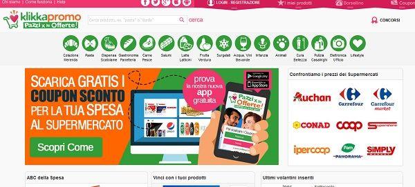 Nuovi Coupon Digitali Klikkapromo – Pazzi per le offerte
