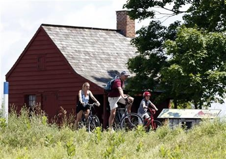 Bicycle Tour at #SaratogaBattlefield http://www.saratoga.org/visitors