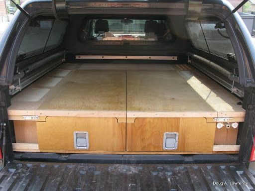... Camper Shell Ideas on Pinterest | Bed storage, Trucks and Truck caps
