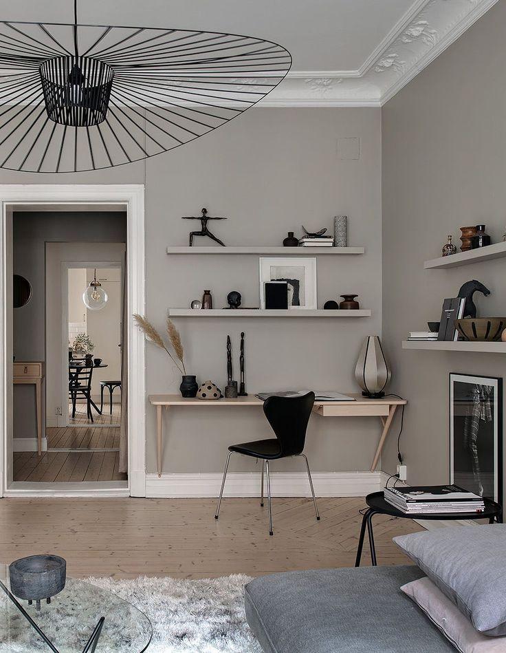 Stylish Home In Beige Via Coco Lapine Design Blog Beige Living Rooms Beige Walls Bedroom Beige Living Room Paint