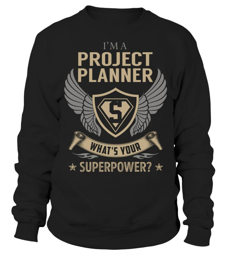 Project Planner - What's Your SuperPower #ProjectPlanner