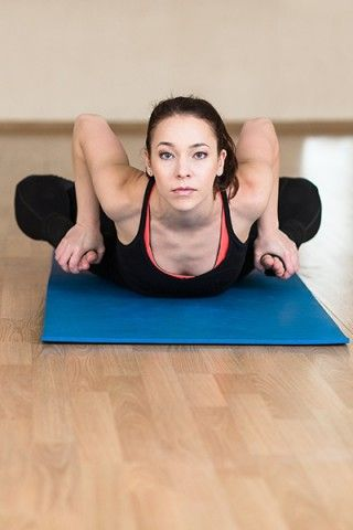 Yoga For Weight Loss - Bhekasana (Frog Pose)