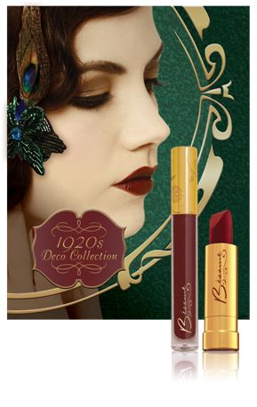 The Great Gatsby features the stylish and beautiful beauty products from Besame Cosmetics which have the same glamourous look and feel of the original beauty products of that period which the film is set.